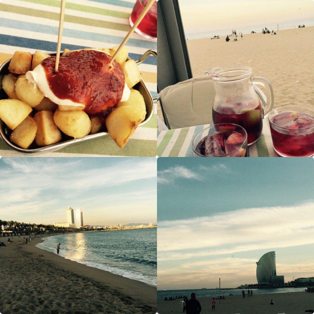 Barcelonagünbatımı