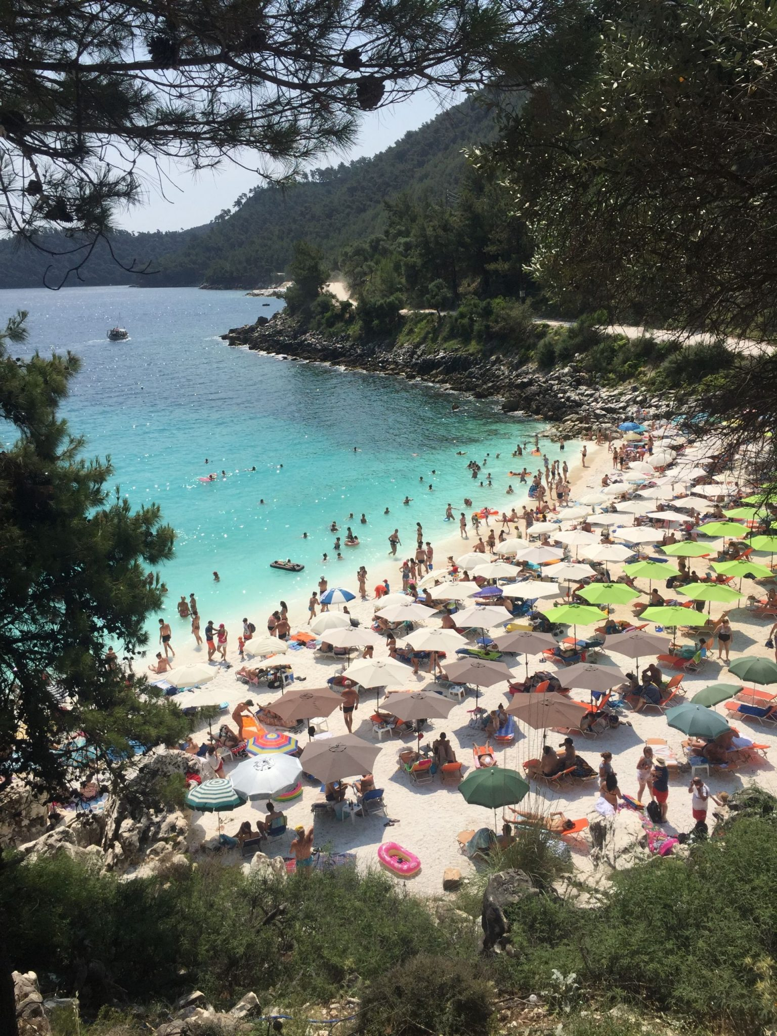 Thassos Porto Vathy/ Saliara/ Marble Beach (Mermer Plajı) – Nasıl Gidilir?
